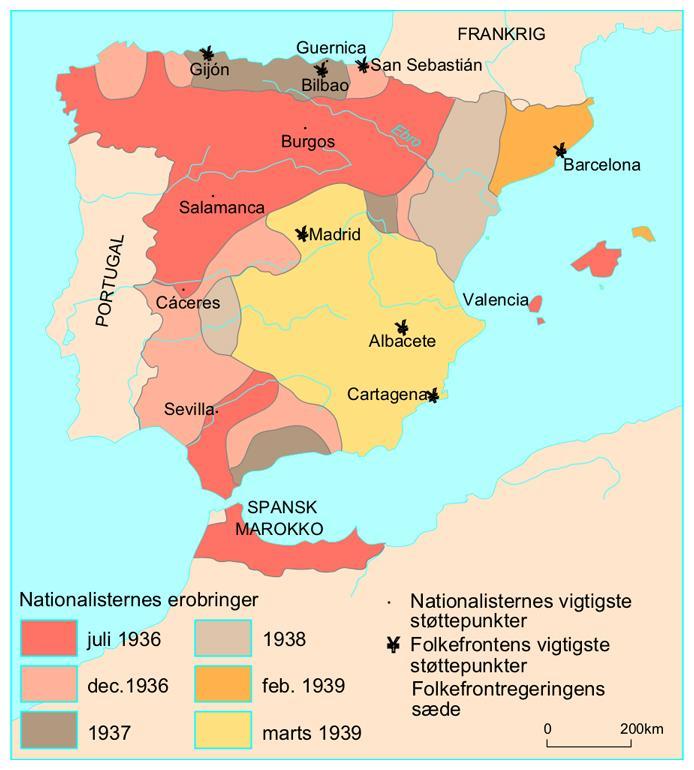 Den Spanske Borgerkrig Faktalink