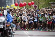 hvor kommer udtrykket maratonløb fra