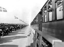 Storstrømsbroen bliver indviet d. 26. september 1937.
