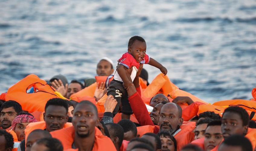 hvordan flygter flygtninge