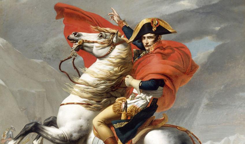 napoleon den 1. til hest