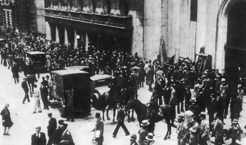 Wall Street Krakket 1929 Faktalink